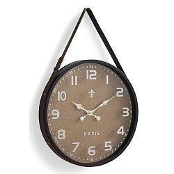 Hnedé nástenné hodiny Geese Hang