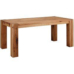 Jedálenský stôl z masívneho dubového dreva Støraa Matrix, 90×160cm