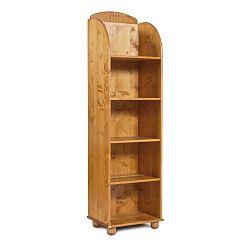 Knižnica z borovicového dreva Faktum Tomi