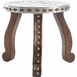 Konferenčný stolík z masívneho mangového dreva Støraa Vito