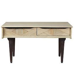 Konferenčný stolík zmasívneho mangového dreva Woodjam Gatsby Raw