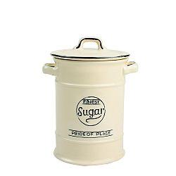 Krémová keramická dóza na cukor T&G Woodware Pride of Place