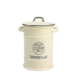 Krémová keramická dóza na kávu T&G Woodware Pride of Place