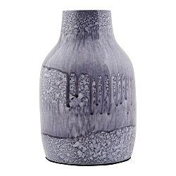 Modrá váza House Doctor Sally, 14cm