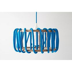 Modré stropné svietidlo EMKO Macaron, 30cm