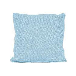 Modrý vankúš s výplňou PT LIVING Cozy, 45x45cm