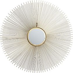 Nástenné zrkadlo Kare Design Sunbeam, Ø90 cm