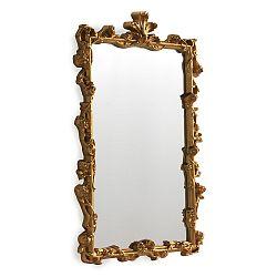 Nástenné zrkadlo v zlatej farbe Geese Baroque, 47×60cm