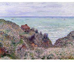 Obraz Claude Monet - Cabin of the Customs Watch, 50x40 cm