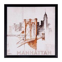Obraz sømcasa Manhattan, 40 x 40 cm