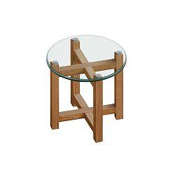Odkladací stolík Actona Melia, ⌀ 50 cm