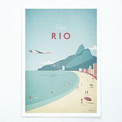 Plagát Travelposter Rio, A2