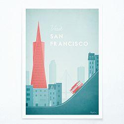 Plagát Travelposter San Francisco, A2