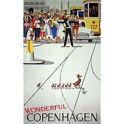 Pohľadnica Architectmade Wonderful Copenhagen
