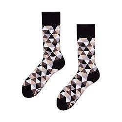 Ponožky Many Mornings Coffee Triangles, veľ.39/42