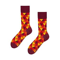 Ponožky Many Mornings Flame Triangles, veľ.35/38