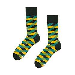 Ponožky Many Mornings Illusion Green, veľ.39/42