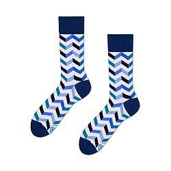 Ponožky Many Mornings Zig Zag Frosty, veľ.39/42