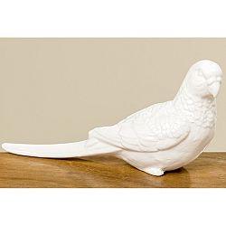 Porcelánová dekoratívna soška Boltze Parrot
