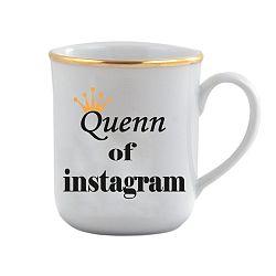 Porcelánový hrnček Vivas Queen, 330ml