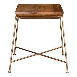 Príručný stolík s doskou z mangového dreva House Nordic Dui