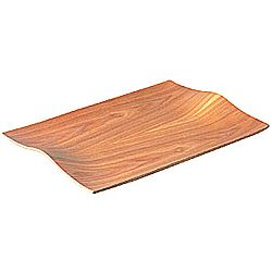 Protišmykový drevený servírovací podnos Kinto Willow, 44×31 cm