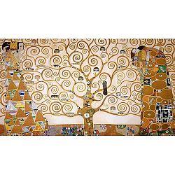 Reprodukcia obrazu Gustav Klimt Tree of Life, 90x50cm
