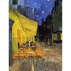 Reprodukcia obrazu Vincenta van Gogha - Cafe Terrace, 60x45 cm