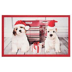 Rohožka Zala Living Christmas Dogs, 45×75cm