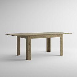 Rozkladací jedálenský stôl v dekore duba sherwood MobiliFiver Easy, dĺžka140-220cm