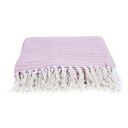 Ružová deka PT LIVING Cozy, 150 x 180 cm