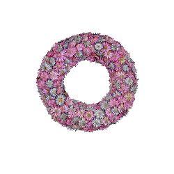 Ružový veniec zo sušených kvetov Ego Dekor, ⌀18,5 cm