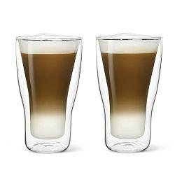 Sada 2 dvojstenných pohárov na latté Bredemeijer, 340 ml