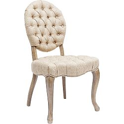 Sada 2 krémových stoličiek Kare Design Duchess