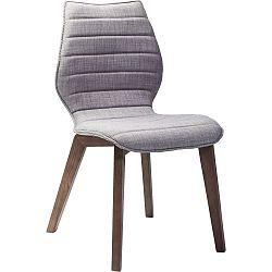 Sada 2 sivých jedálenských stoličiek Kare Design Vita