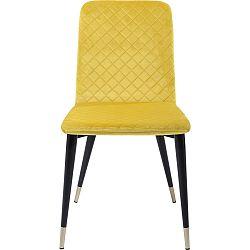 Sada 2 žlutých jedálenských stoličiek Kare Design Montmartre
