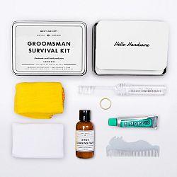 Sada pre ženícha Men's Society Groomsman Survival