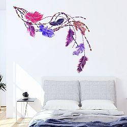 Samolepka Ambiance Boho Feathers