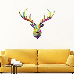 Samolepka Ambiance Deer Multicolor