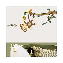 Samolepka Ambiance Monkey and Tree