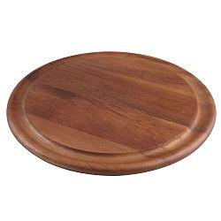 Servírovacia doska z akáciového dreva T&GWoodware Tuscany, ⌀ 29,4 cm
