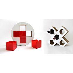 Set červenej lekárničky a vinotéky Unlimited Design for kids