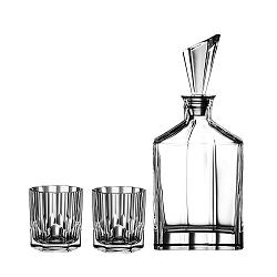 Set karafy a 2 pohárov na whiskey z krištáľového skla Nachtmann Aspen