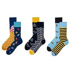 Set ponožiek v darčekovom balení Many Mornings Chill, veľ. 43–46