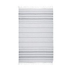 Sivá hammam osuška Kate Louise Classic, 180×100cm