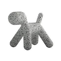 Sivá stolička Magis Puppy Dalmatin, dĺžka 56cm