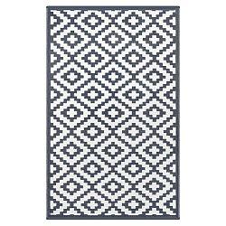 Sivo-biely obojstranný vonkajší koberec Green Decore Charro, 120×180 cm