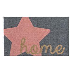 Sivo-ružová rohožka Zala Living Design Star Home Grey Pink, 50 x 70 cm