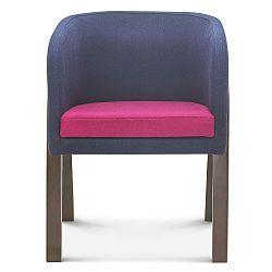 Sivo-ružová stolička Fameg Eluf