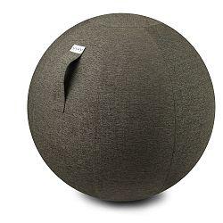 Sivobéžová lopta na sedenie VLUV Stov, Ø60-65cm